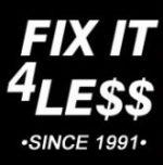 Fix it 4 Less Appliance Repair
